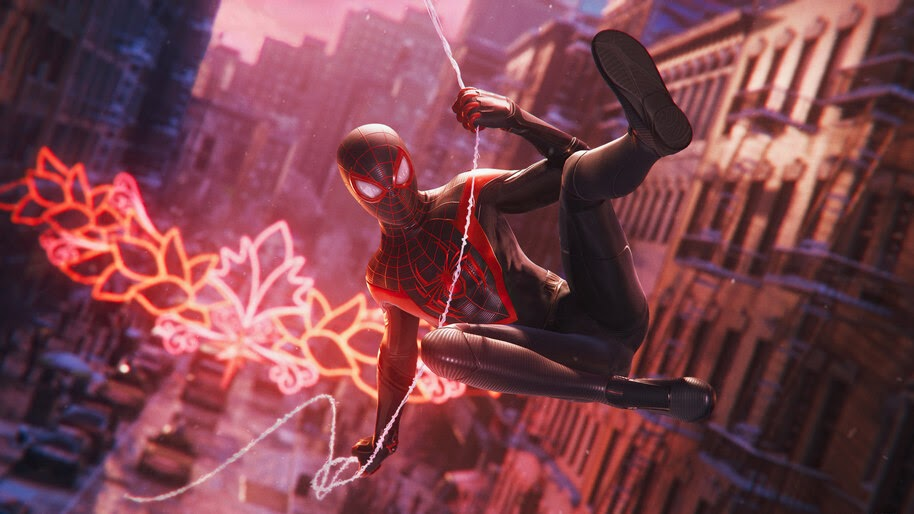 Spider-Man Miles Morales, Web Swing, PS5, 4K, #5.2058