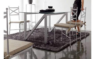 mesa actual de forja y acero