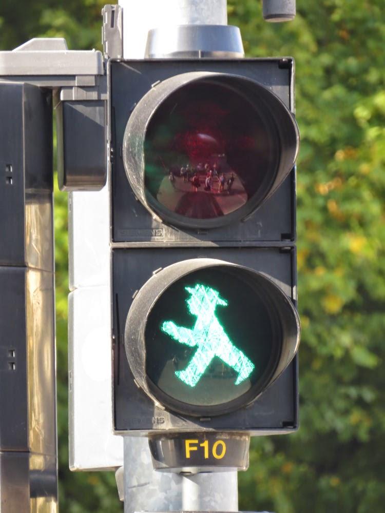 איש ירוק - Ampelmann