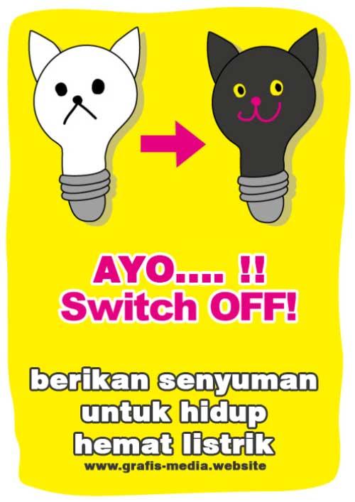 12 Contoh Poster Tentang Hemat Energi Listrik Serta Slogan