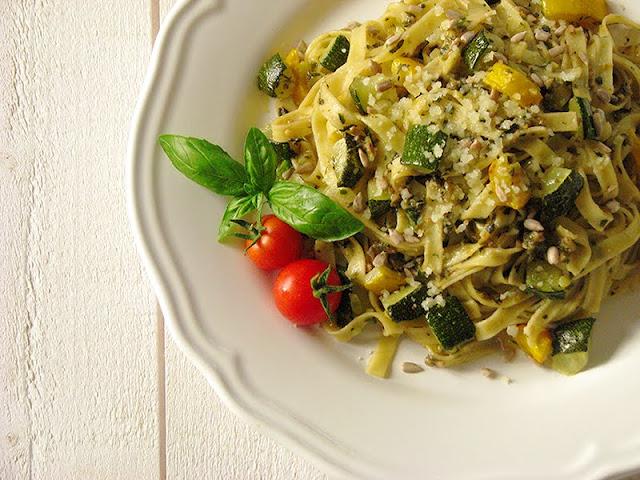 recette végétarienne avec des courgettes