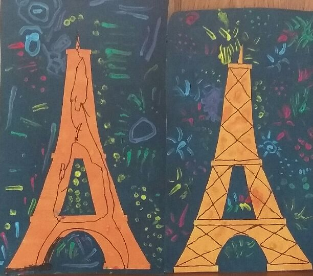 mes motsdoubs la tour eiffel vue par mes petits enfants. Black Bedroom Furniture Sets. Home Design Ideas