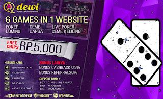 Situs Judi Ceme Online Terpercaya QDewi.net