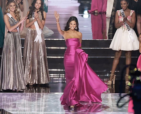 SASHES AND TIARAS     65th Miss Universe Finals EVENING