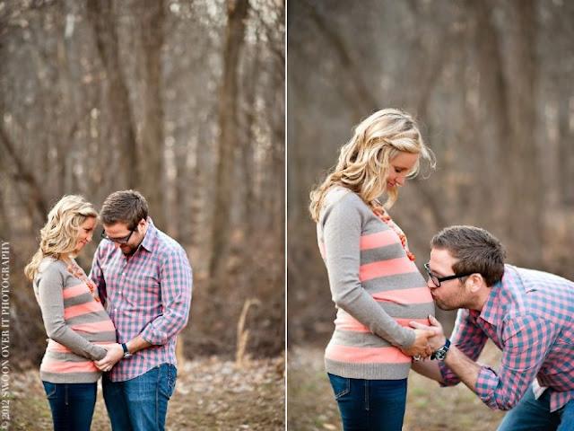 30 adoráveis ideias de fotos para registrar a emoção de casais grávidos