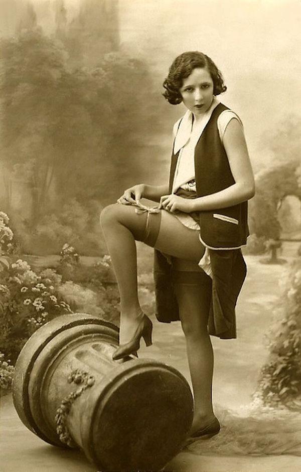 Femme des années 20 et 1930