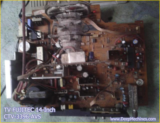 Gambar dan Keterangan Perbaikan Kerusakan TV FUJITEC 14-Inch (CTV 3396-AVS)