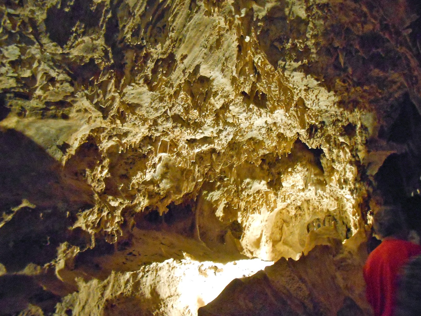 inside colossal cave tucson arizona tours