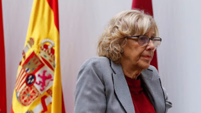 Carmena, Ahora Madrid, republicanos, PSOE, memoria histórica, La Almudena