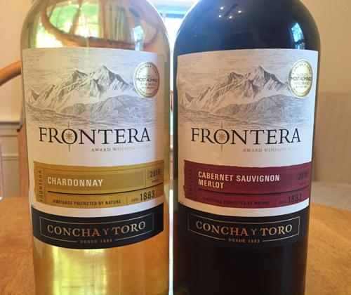 Concha y Toro Fronterra Chardonnay 2016 & Cabernet Sauvignon Merlot 2016