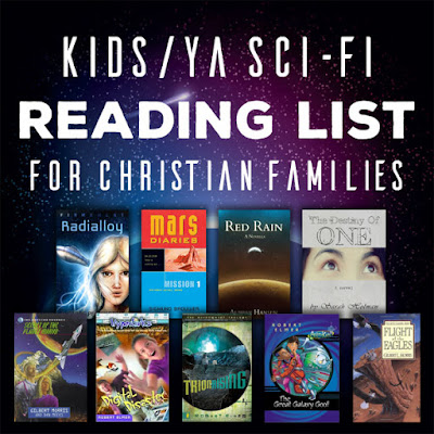 Sci-Fi Reading List for Christian Families