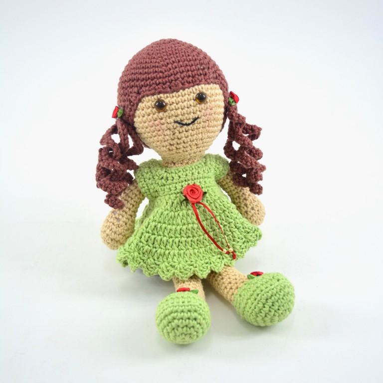 Doll crochet | Bonecas de crochê, Bonecas de croche amigurumi ... | 768x768
