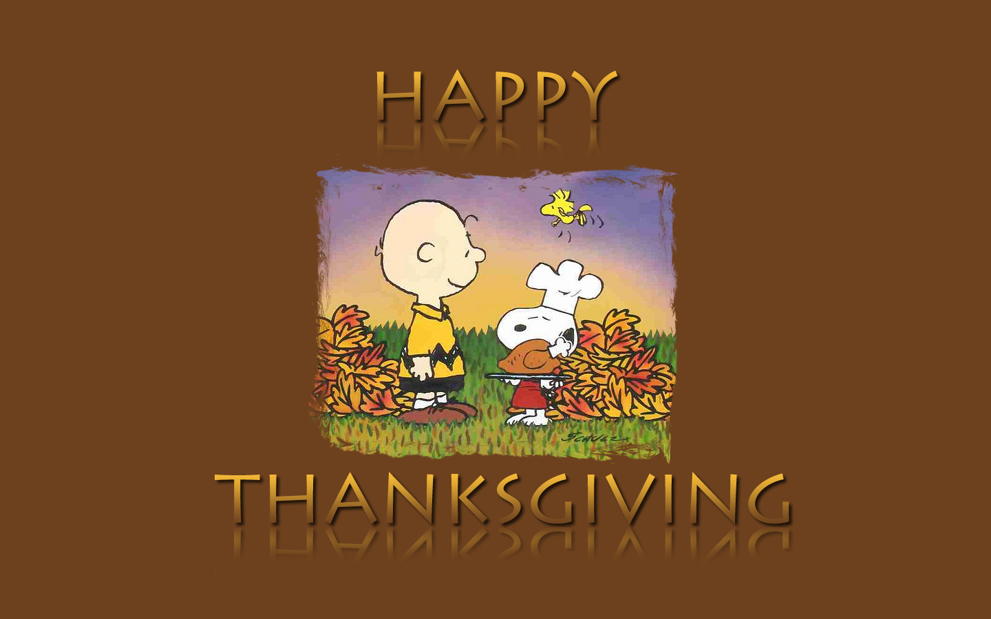 Related Images with Free Snoopy Thanksgiving Wallpaper WallpaperSafari