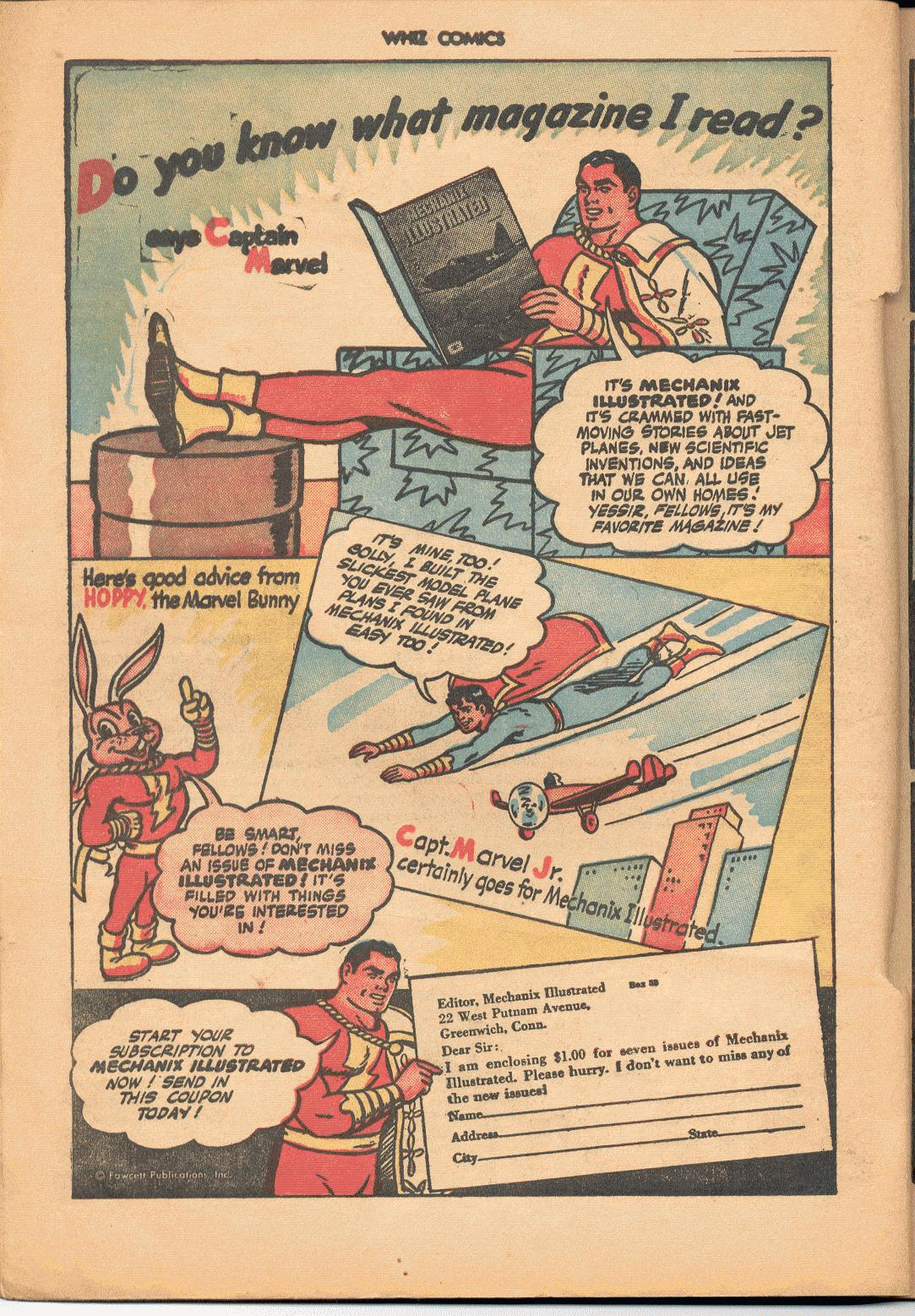 WHIZ Comics issue 71 - Page 20
