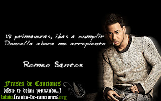 Frases machistas de la canción Perjurio de Romeo Santos - menor 18 años