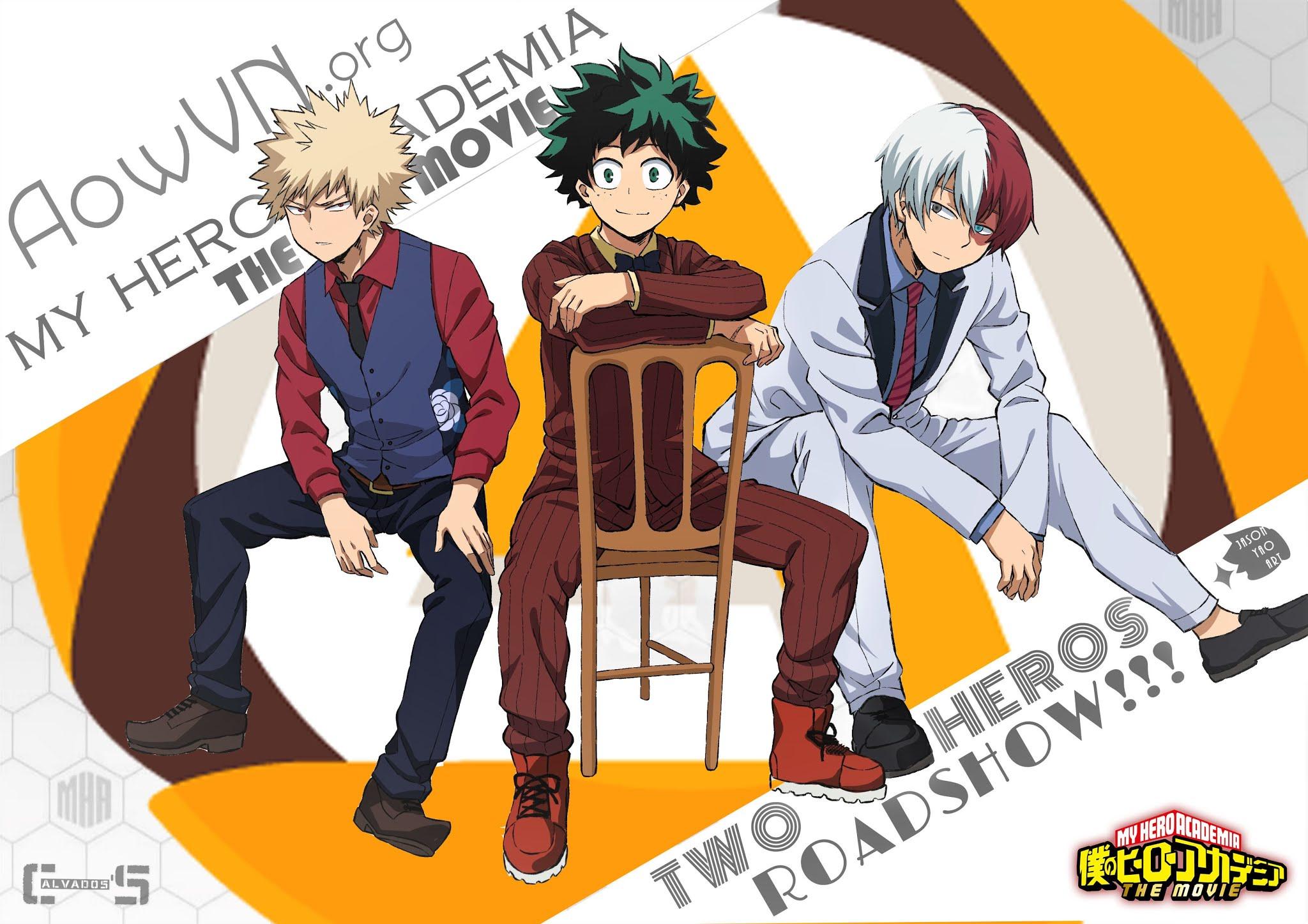 1 - [ Anime Mp4 ] Boku no Hero Academia The Movie- Futari no Hero ( HD 720 ) | Vietsub
