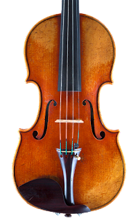 Violin top in copy of Guadagnini by Nicolas Bonet