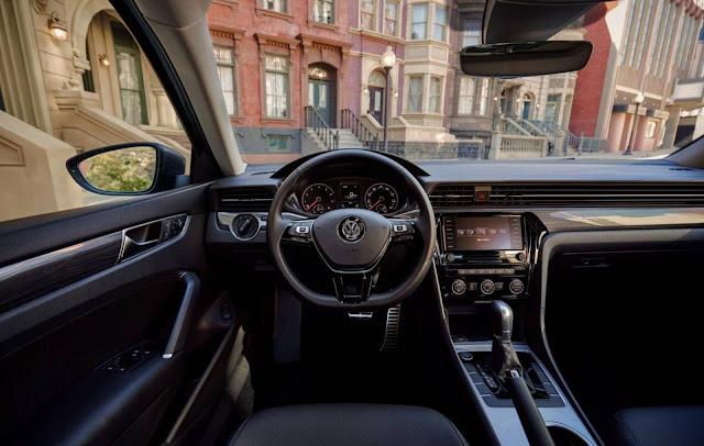 Novo VW Passat 2020 - interior