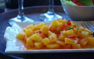 Zeytinyagli Patates Tarifi
