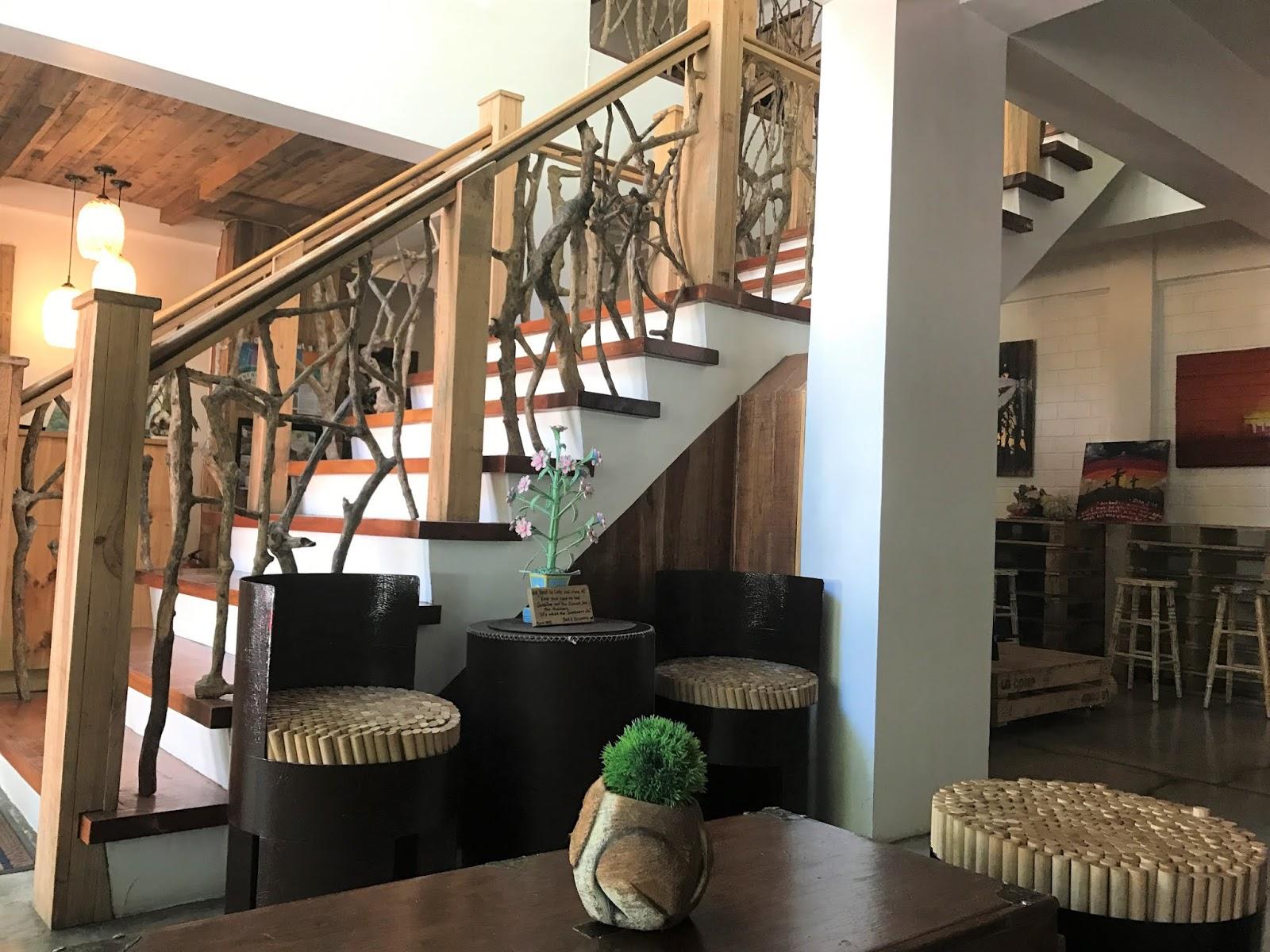 eco hotel lobby