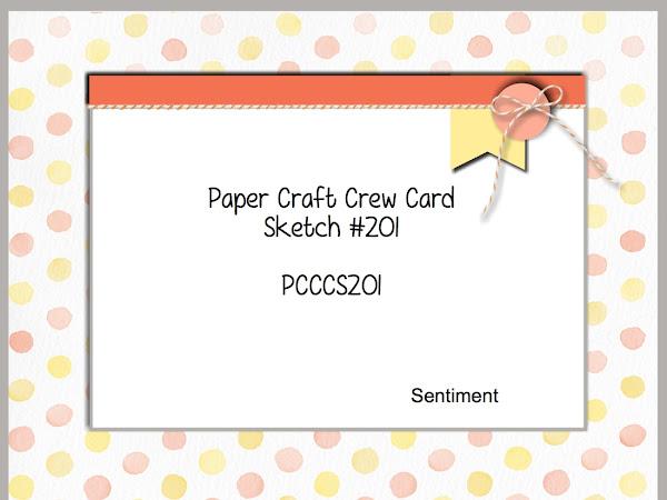 Paper Craft Crew Challenge #201