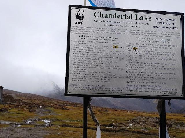 Chandertal, Kunzum Pass, Himachal Pradesh