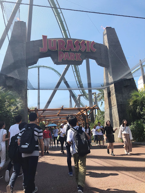 attraction Jurassic Park Studios Japan