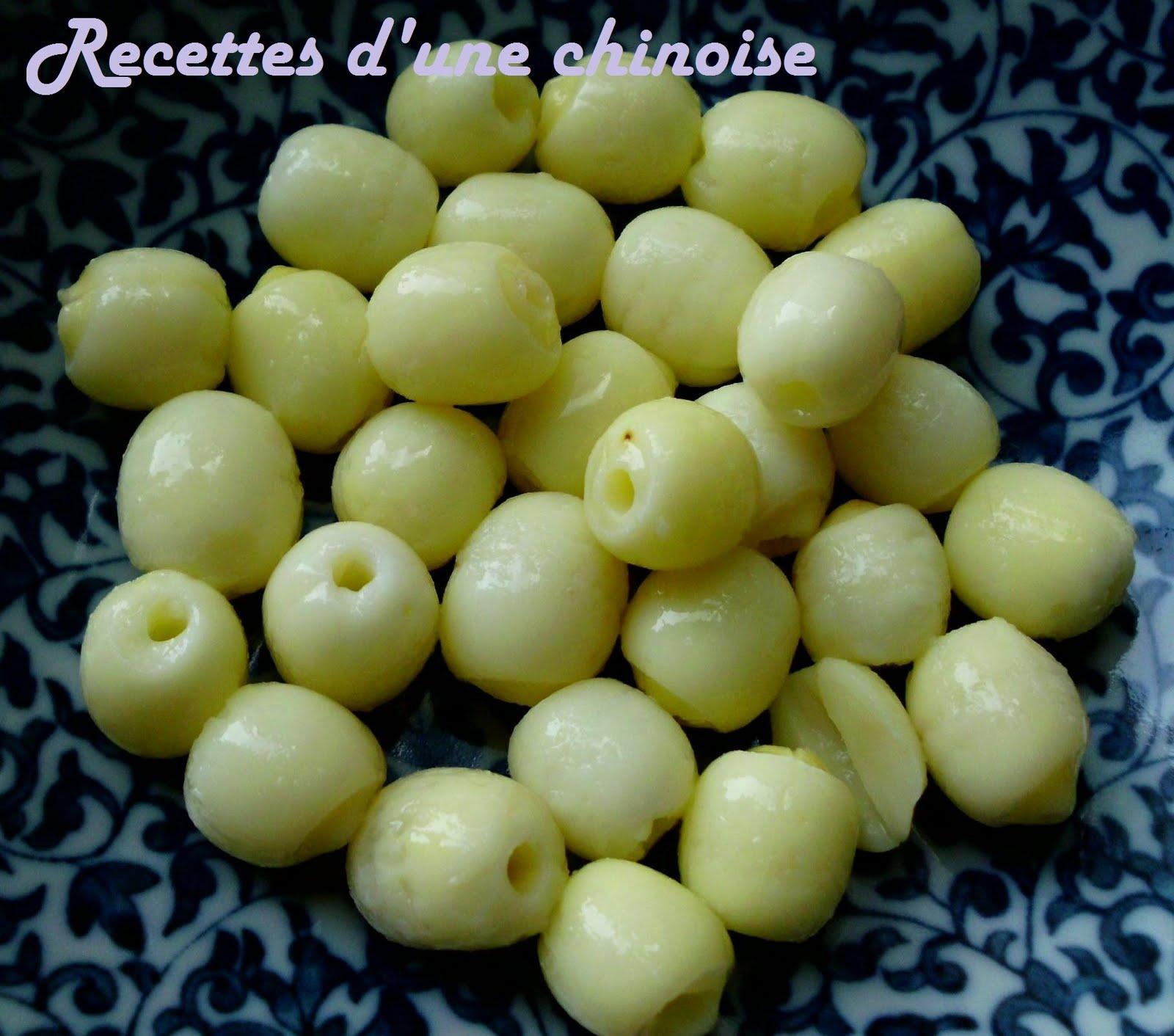 Recettes d'une Chinoise: Graines de lotus 莲子 lián zǐ