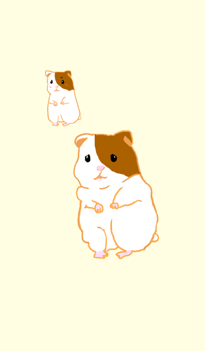 Hamster tends to become fat