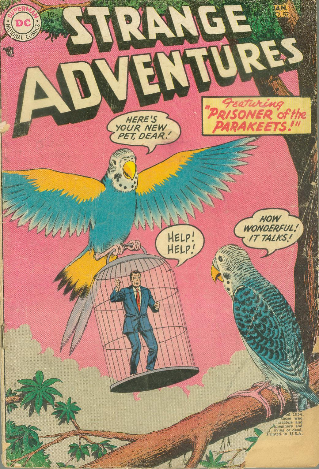 Strange Adventures (1950) issue 52 - Page 1