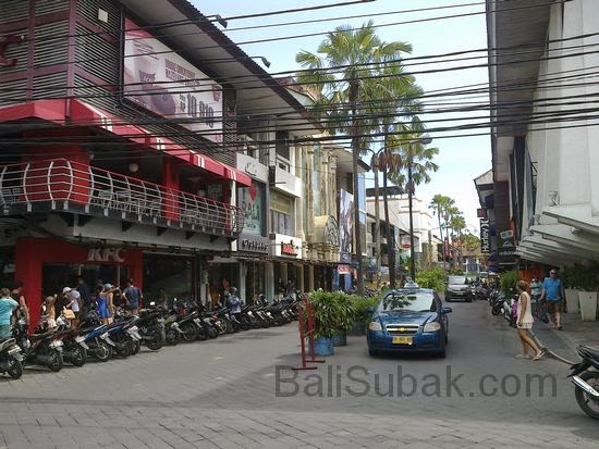 Kuta Square Bali Indonesia attraction