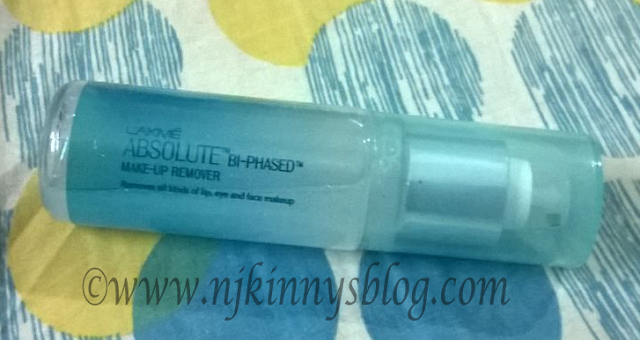 Review: Lakme Absolute Bi-Phased Make-Up Remover