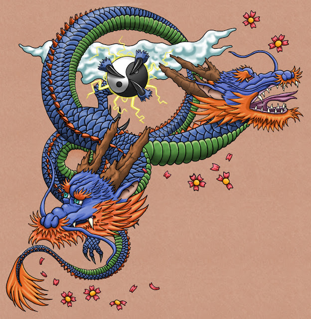 Japanese Dragon: Japanese Dragon Tattoo