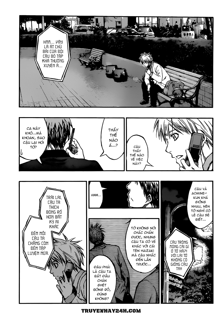 Kuroko No Basket chap 214 trang 9