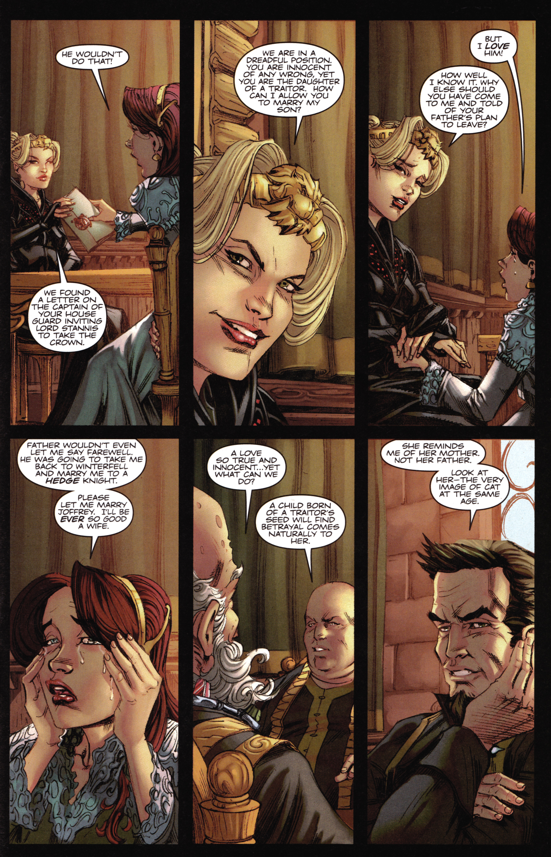 Read online A Game Of Thrones comic -  Issue #16 - 29