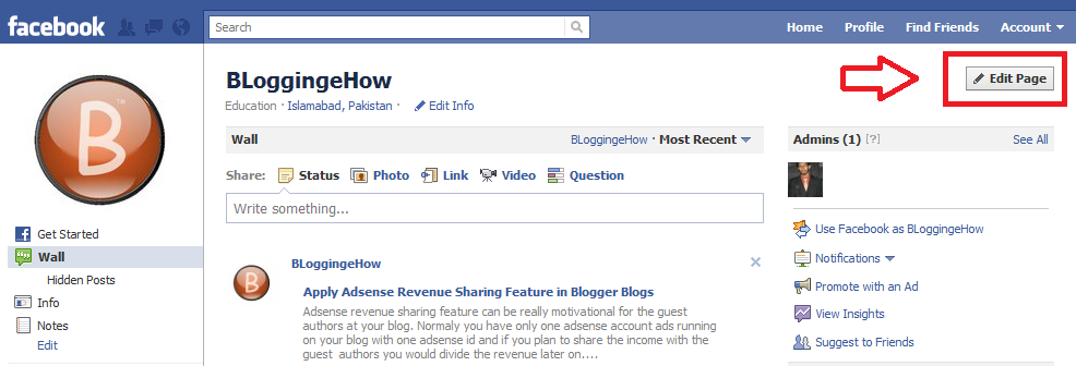 Automatically Add Your Blog Posts to Your Facebook Fan Page Wall