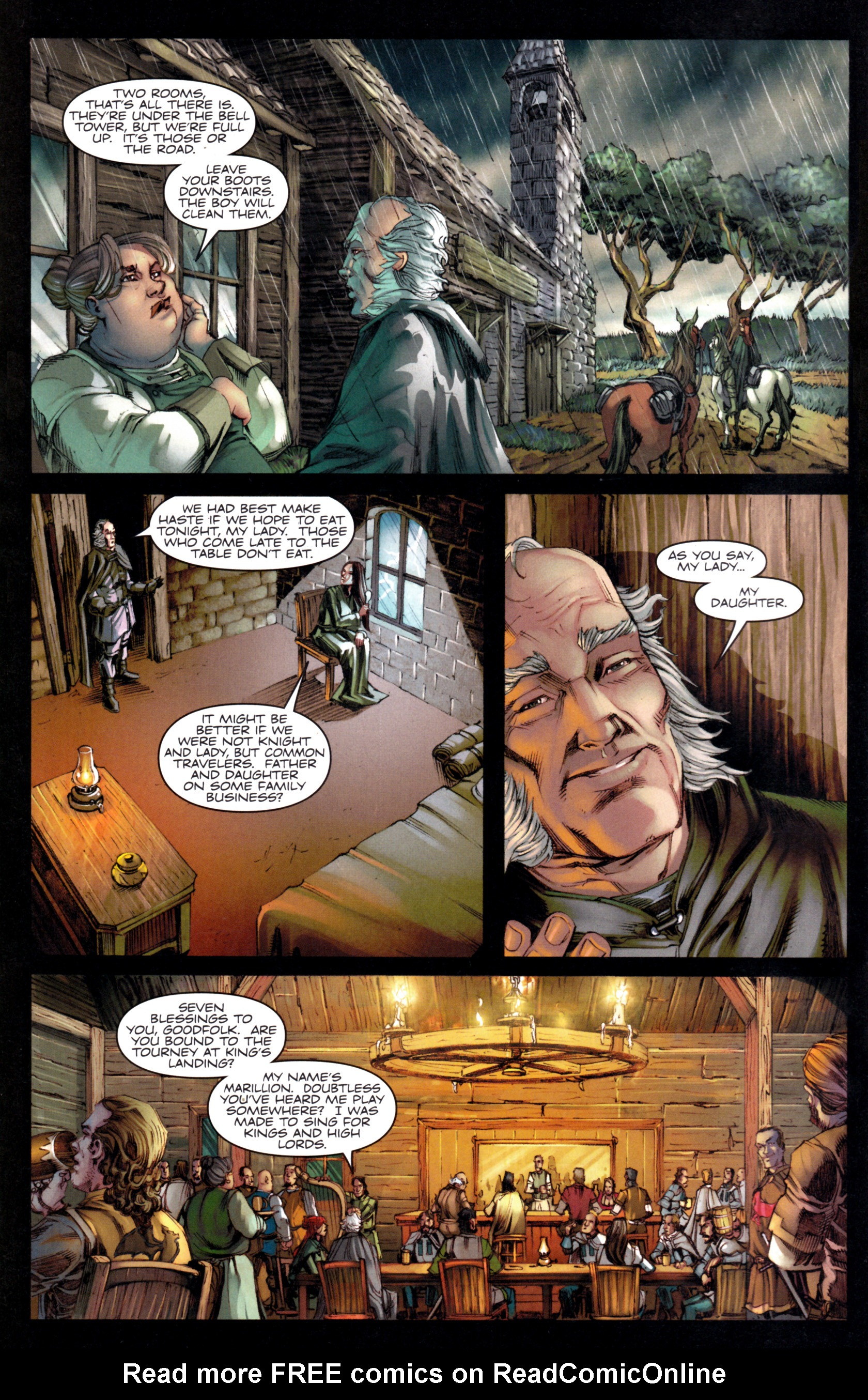 Read online A Game Of Thrones comic -  Issue #9 - 4