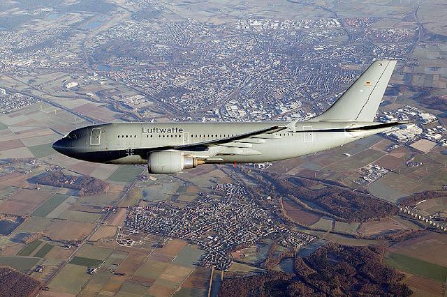 Gambar 1. Foto Pesawat Angkut Militer Airbus A310 MRTT