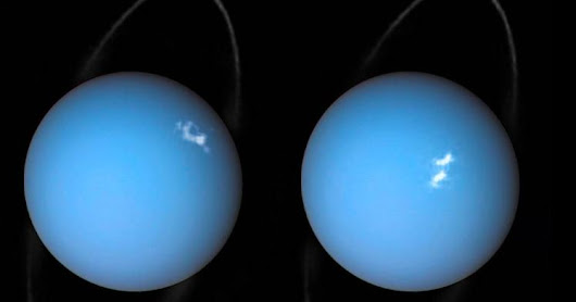 Hubble just spotted something massive coming out of Uranus | Physics-Astronomy