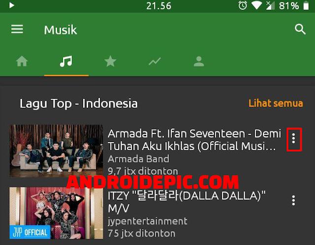 Aplikasi Pemutar Musik Youtube Tanpa Video, Bisa Langsung Download MP3 dari Youtube