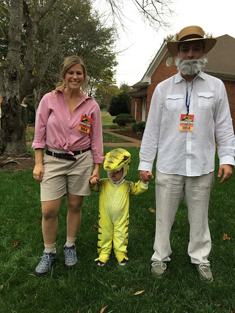Dinosaur family costume