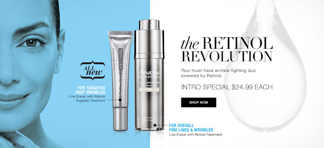 AVON ANEW CLINICAL LINE ERASER