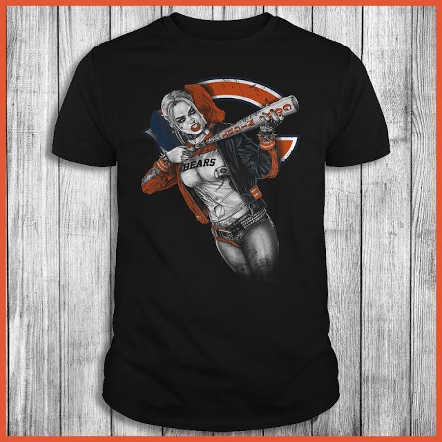 Chicago Bears Harley Quinn T-Shirt