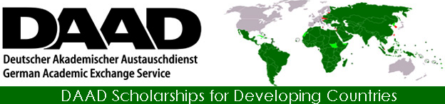 DAAD Scholarships for Developing Countries' Students, 2019-2020