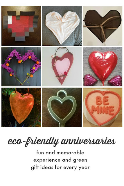 eco-friendly anniversary hearts