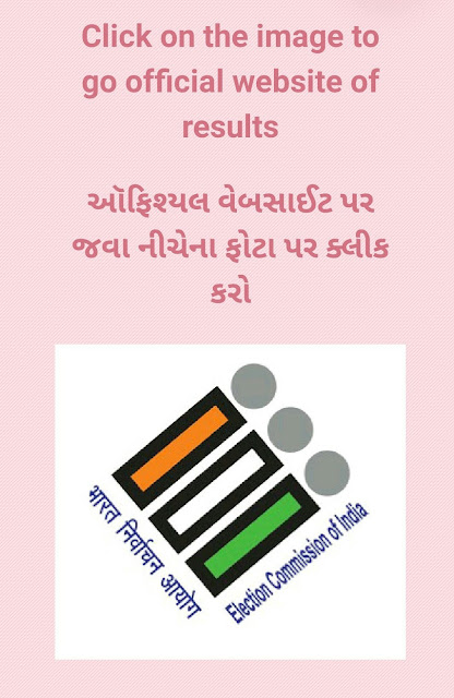 Official website for the result of Loksabha 2019