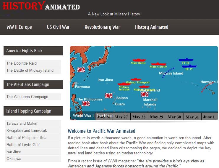 The Learning Professor: Website Spotlight: World War II