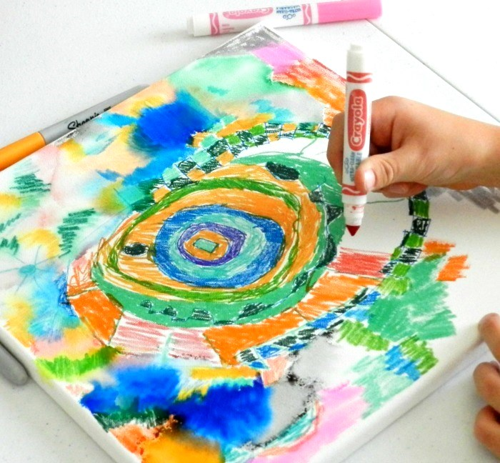Sharpie Art Ideas With Alcohol