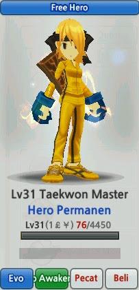 Taekwon Master Evolution Lost Saga Indonesia