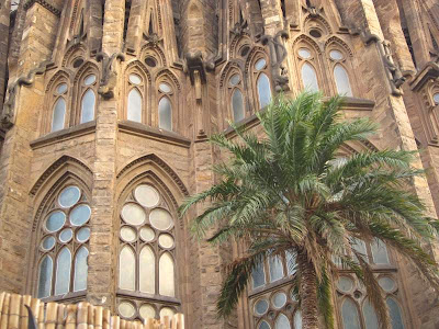 Apse of Sagrada Familia Basilica in Barcelona